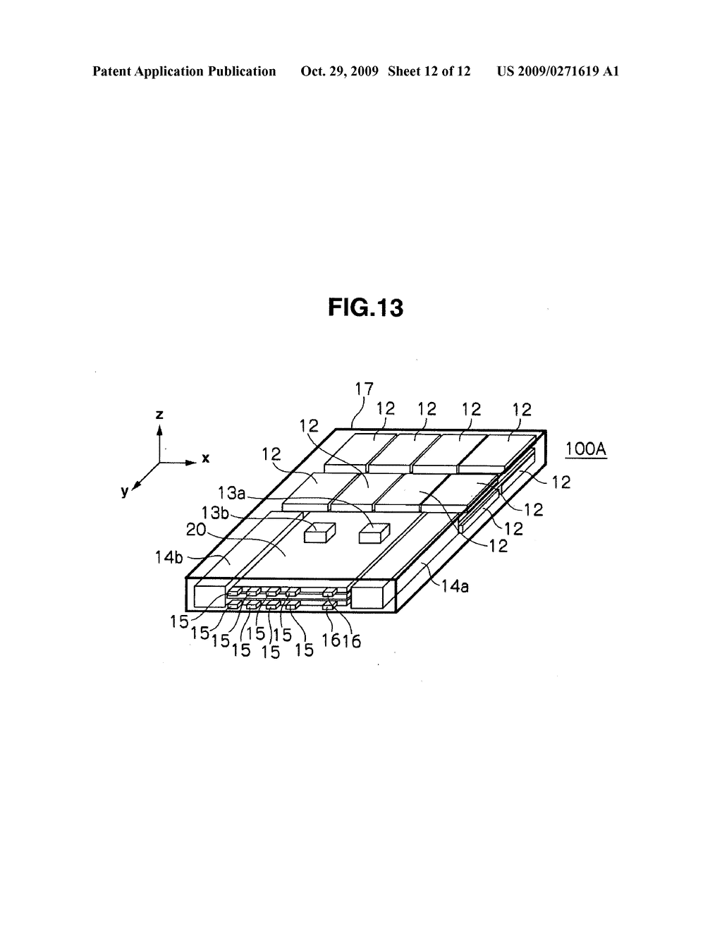 External storage apparatus and method of preventing information leakage - diagram, schematic, and image 13