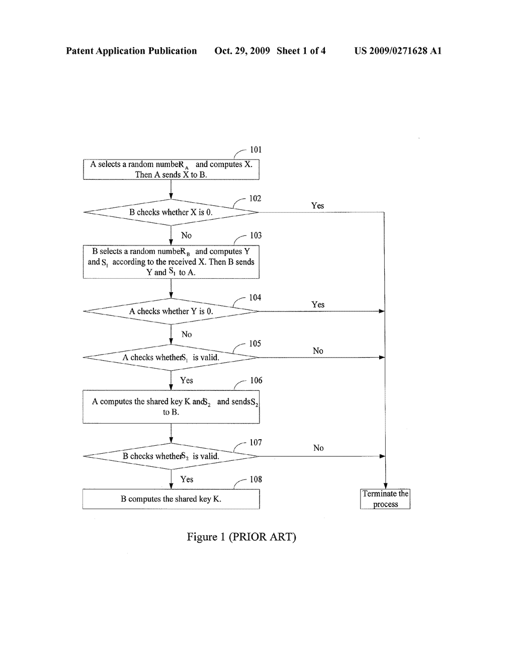 METHOD AND SYSTEM FOR KEY EXCHANGE AND METHOD AND APPARATUS FOR REDUCING PARAMETER TRANSMISSION BANDWIDTH - diagram, schematic, and image 02