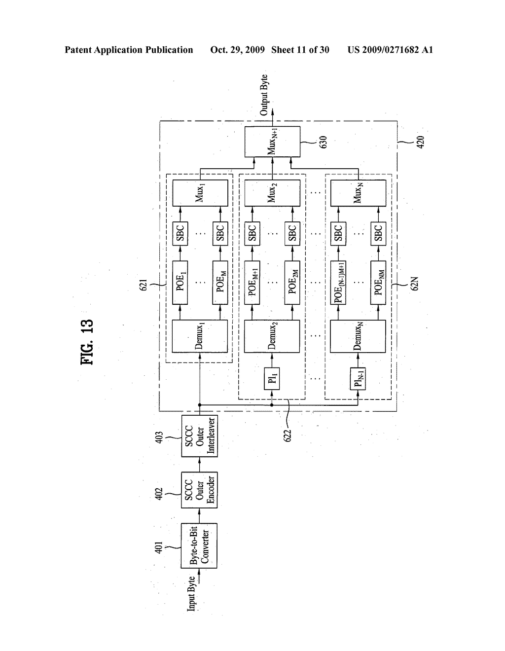 RECEIVING/TRANSMITTING SYSTEM AND DATA PROCESSING METHOD IN THE RECEIVING/TRANSMITTING SYSTEM - diagram, schematic, and image 12