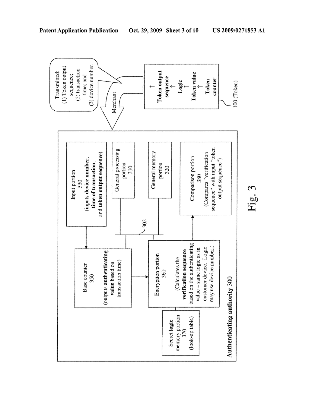 SYSTEMS AND METHODS FOR TIME VARIABLE FINANCIAL AUTHENTICATION - diagram, schematic, and image 04