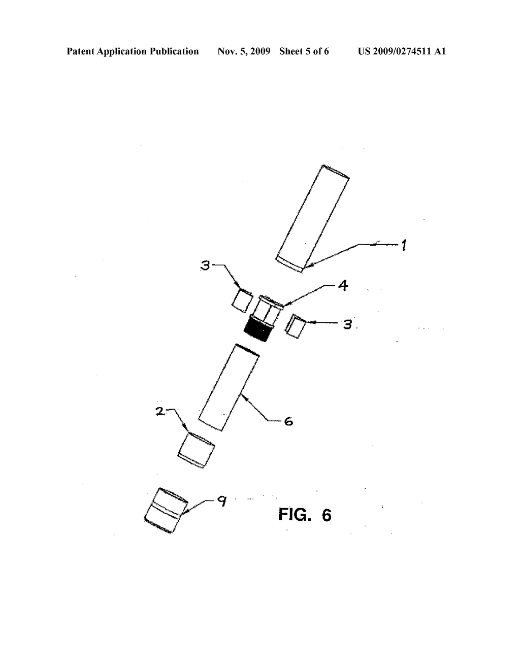 Telescopic tube and cam connecting and locking mechanism