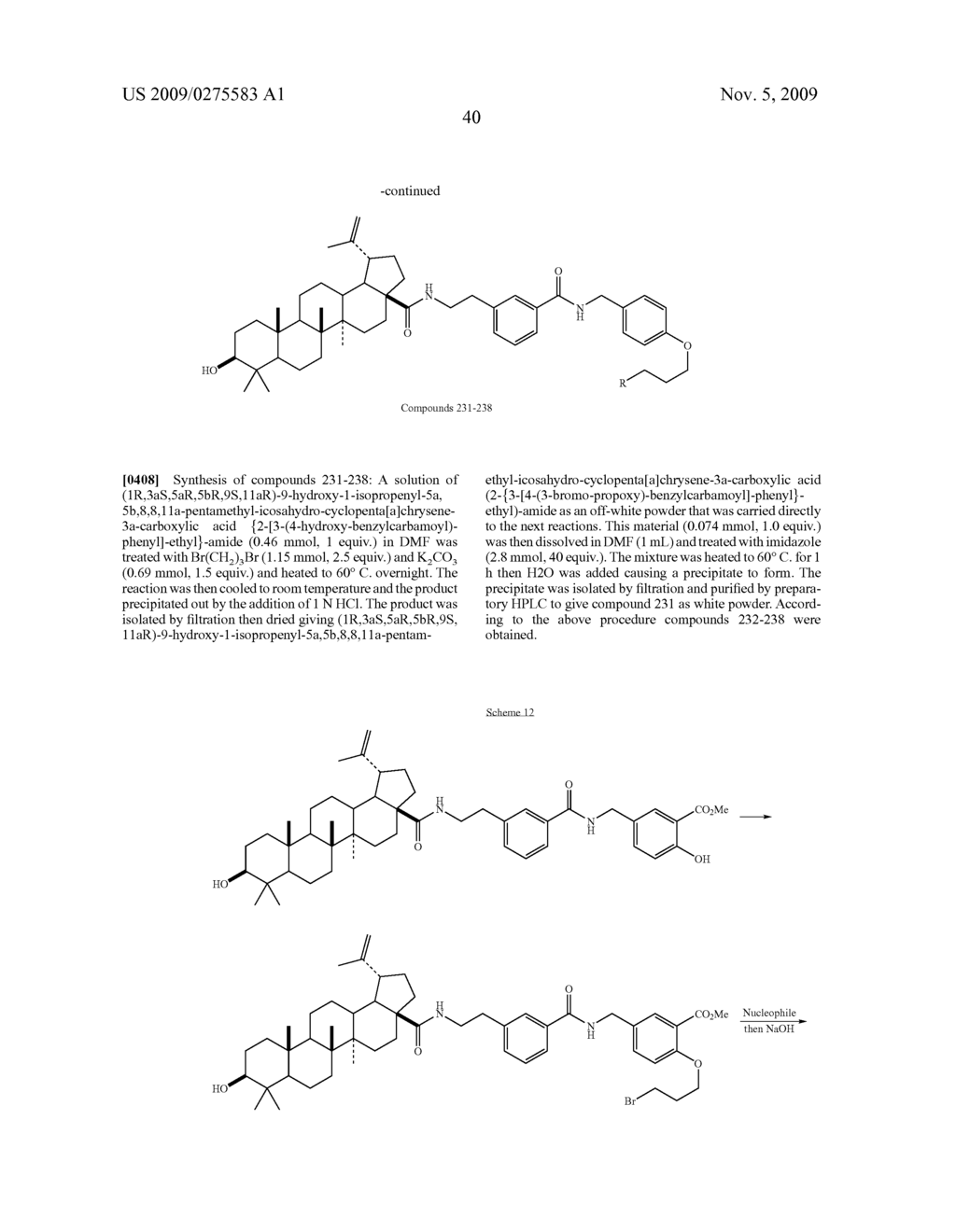 ANTIVIRAL COMPOUNDS AND USE THEREOF - diagram, schematic, and image 41