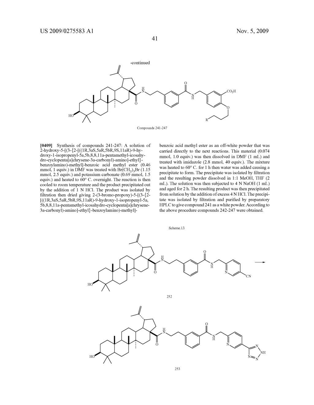 ANTIVIRAL COMPOUNDS AND USE THEREOF - diagram, schematic, and image 42