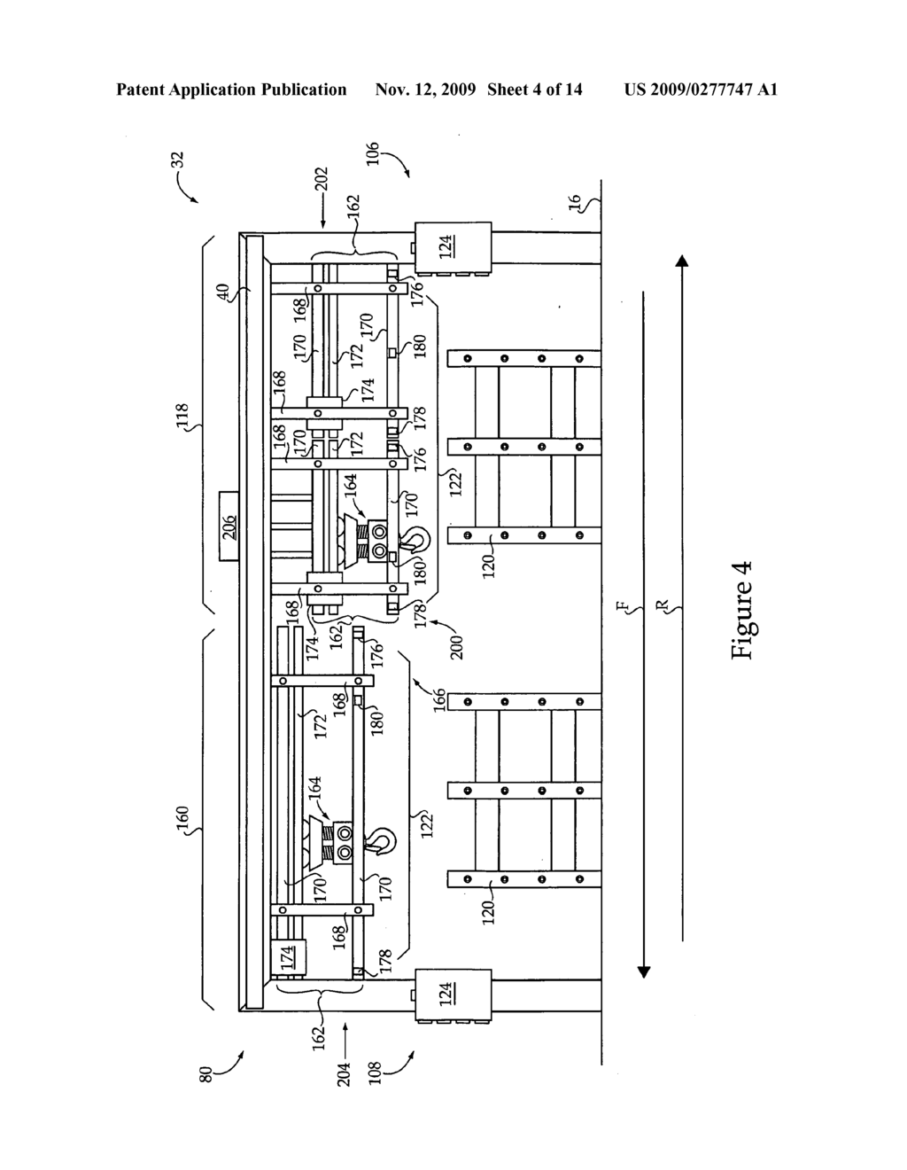 Material handling system including dual track assembly and method of operating same - diagram, schematic, and image 05