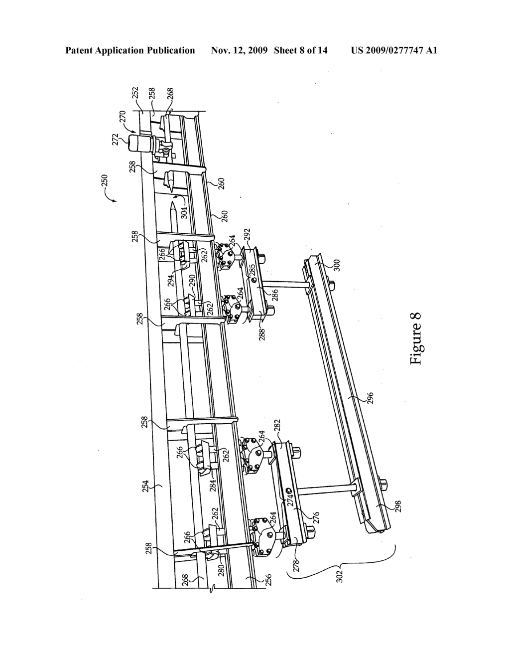 Material handling system including dual track assembly and method of operating same - diagram, schematic, and image 09