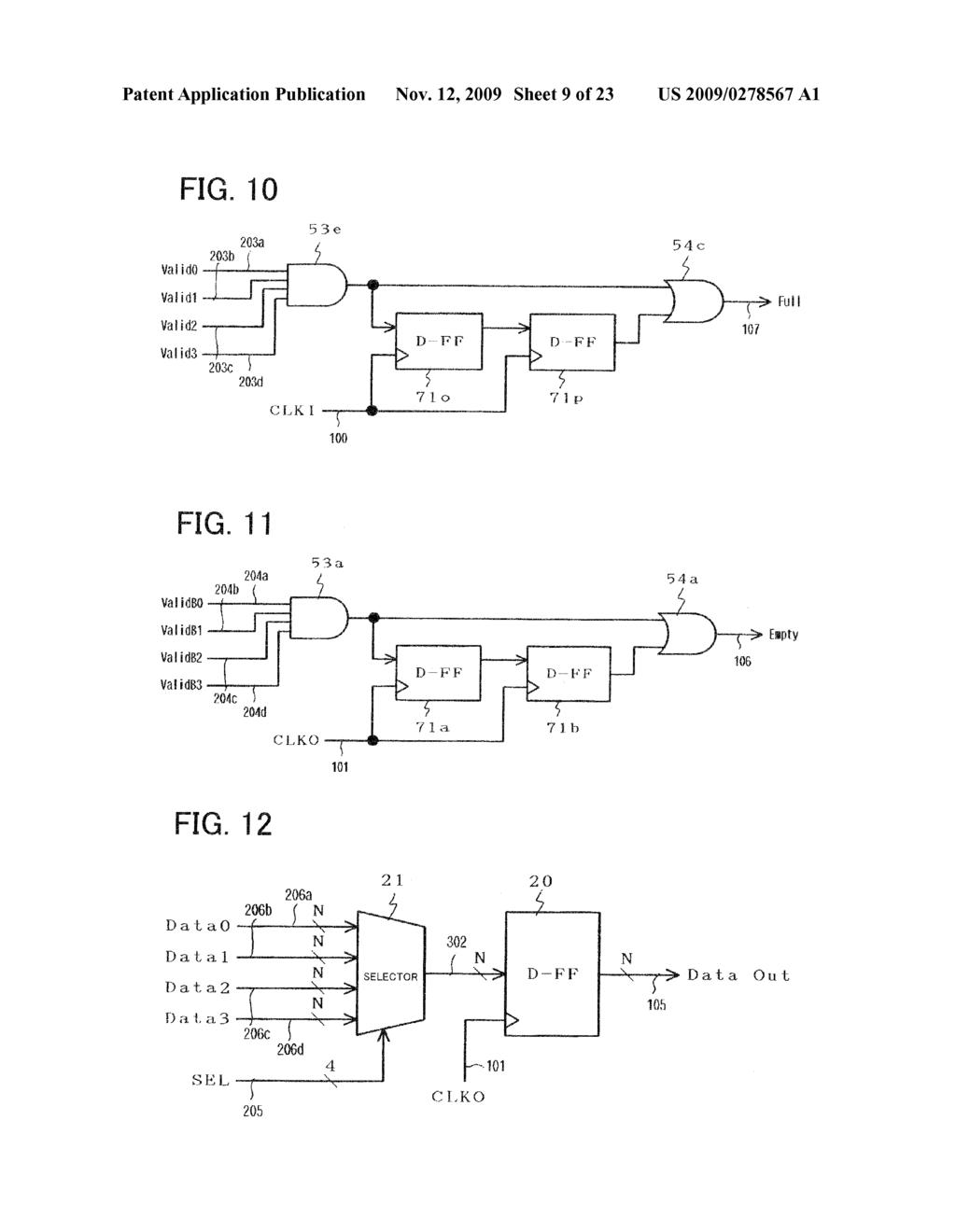 Semiconductor Digital Circuit Fifo Buffer And Data Schematic Diagram Transferring Method Image 10