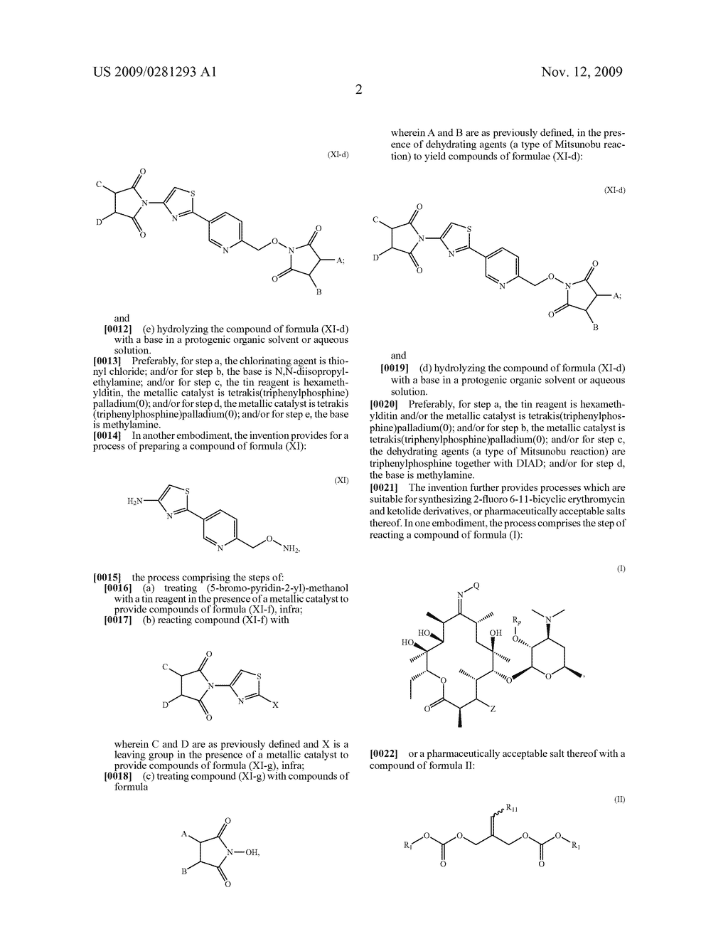 PROCESSES FOR THE PREPARATION OF 2 FLUORO 6-11 BICYCLIC ERYTHROMYCIN DERIVATIVES - diagram, schematic, and image 03