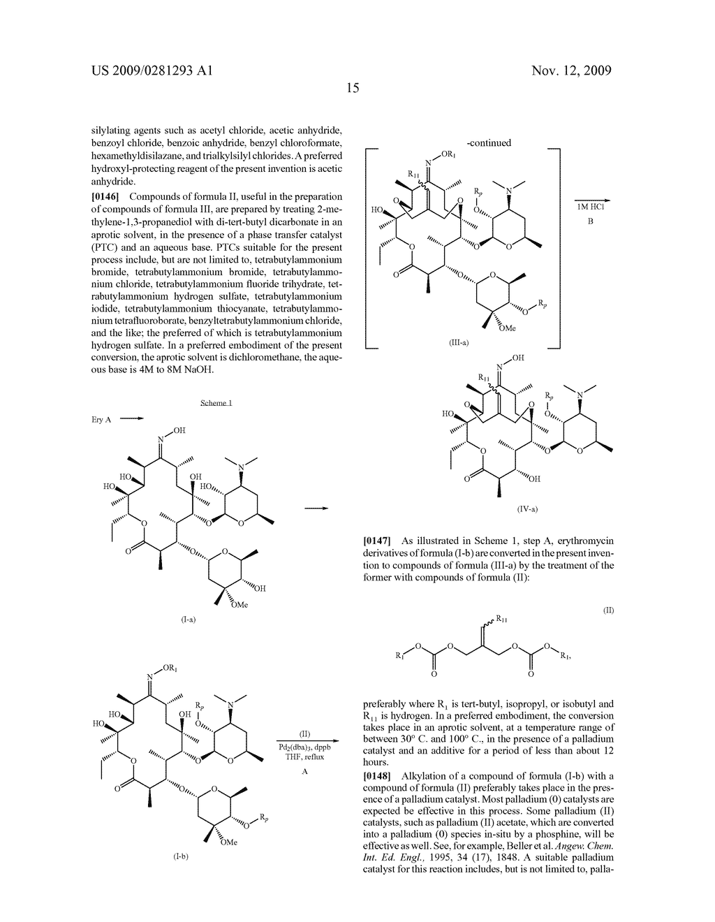 PROCESSES FOR THE PREPARATION OF 2 FLUORO 6-11 BICYCLIC ERYTHROMYCIN DERIVATIVES - diagram, schematic, and image 16