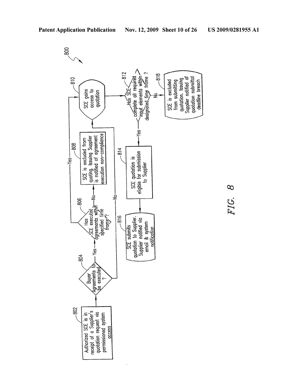 METHOD OF AND SYSTEM FOR ENABLING AND MANAGING SUB-CONTRACTING ENTITIES - diagram, schematic, and image 11