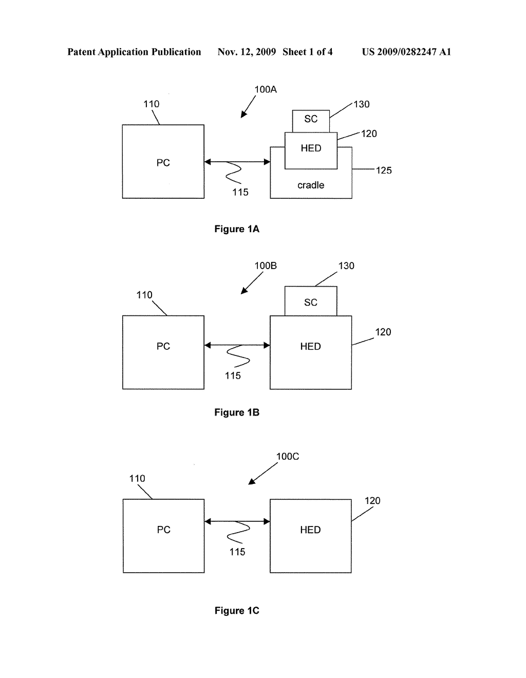METHOD, SYSTEM AND DEVICE FOR AUTHENTICATING A USER - diagram, schematic, and image 02