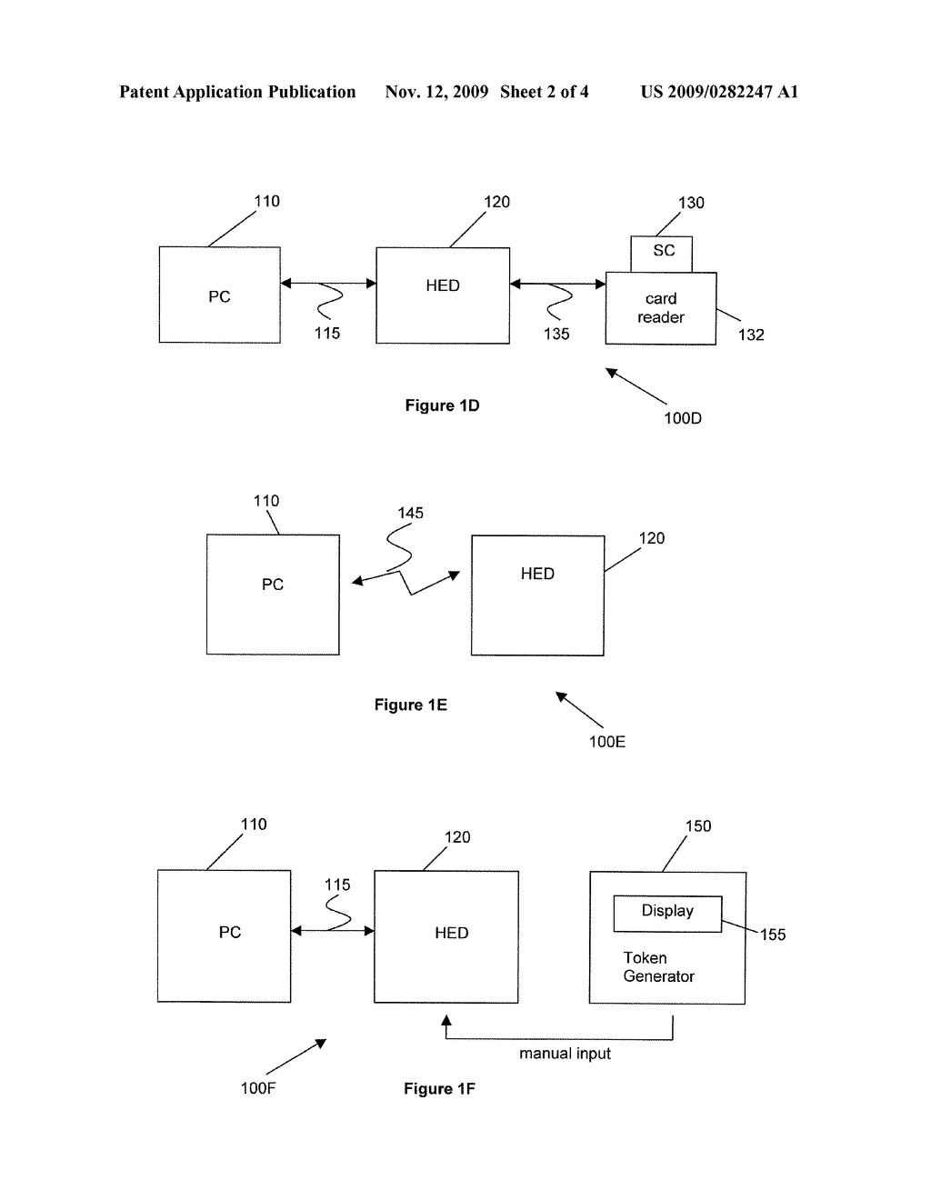 METHOD, SYSTEM AND DEVICE FOR AUTHENTICATING A USER - diagram, schematic, and image 03