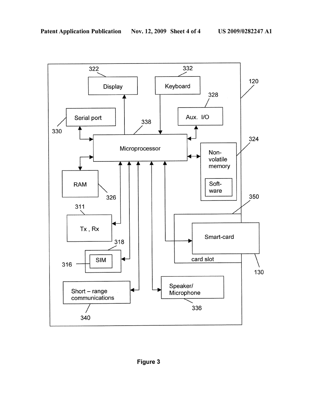 METHOD, SYSTEM AND DEVICE FOR AUTHENTICATING A USER - diagram, schematic, and image 05