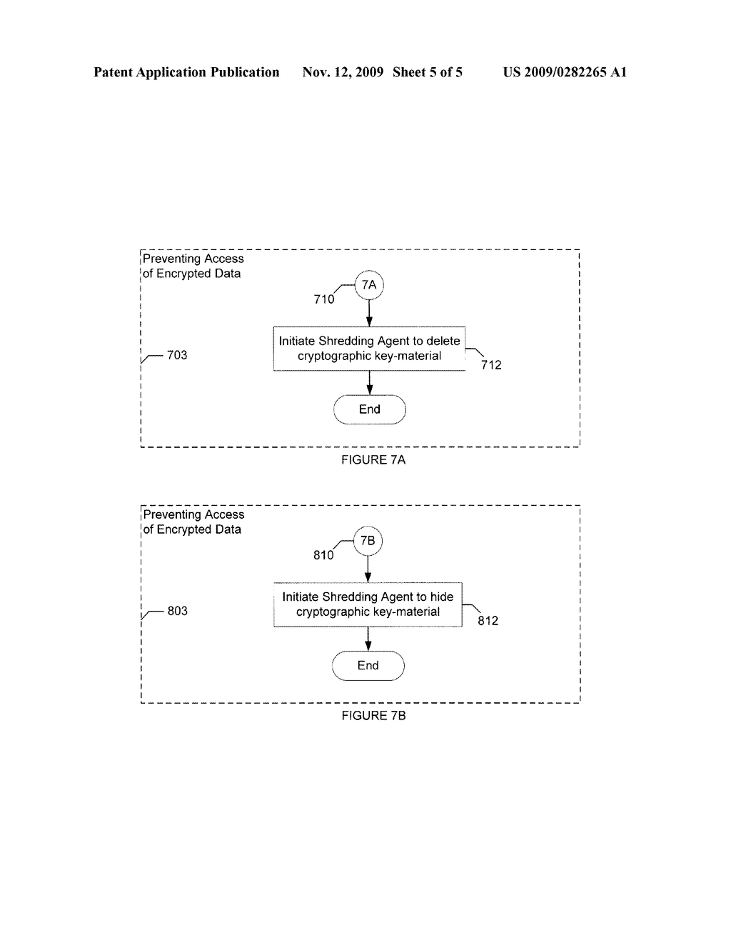 METHOD AND APPARATUS FOR PREVENTING ACCESS TO ENCRYPTED DATA IN A NODE - diagram, schematic, and image 06