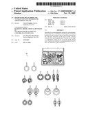 Interchangeable earring and necklace kits and methods for their storage and use diagram and image