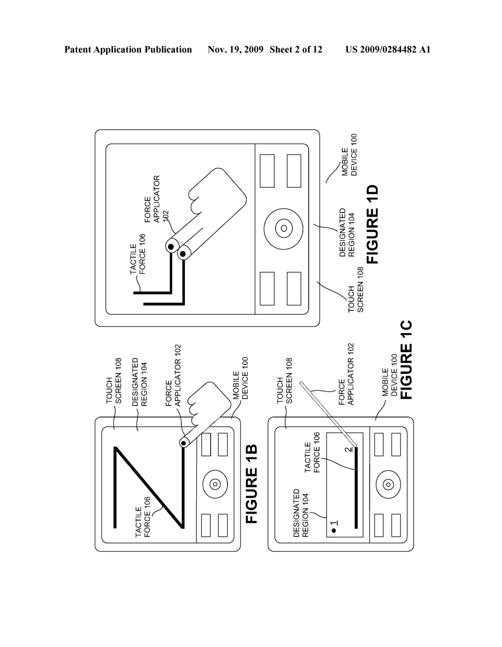 TOUCH-BASED AUTHENTICATION OF A MOBILE DEVICE THROUGH USER GENERATED PATTERN CREATION - diagram, schematic, and image 03