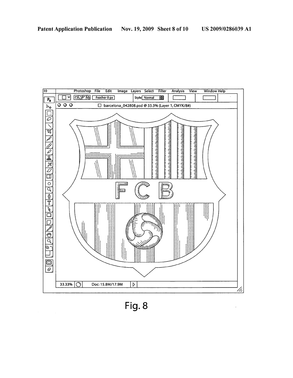 PRINTED APPLIQUE WITH THREE-DIMENSIONAL EMBROIDERED APPEARANCE - diagram, schematic, and image 09