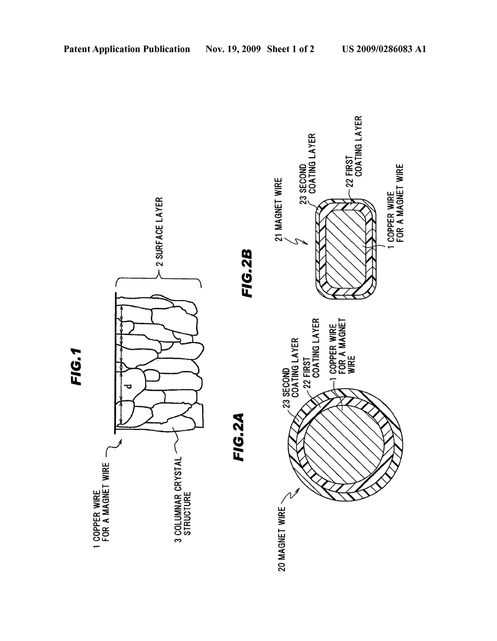 Copper wire for a magnet wire, magnet wire using same, and method for  fabricating copper wire for a magnet wire - diagram, schematic, and image 02