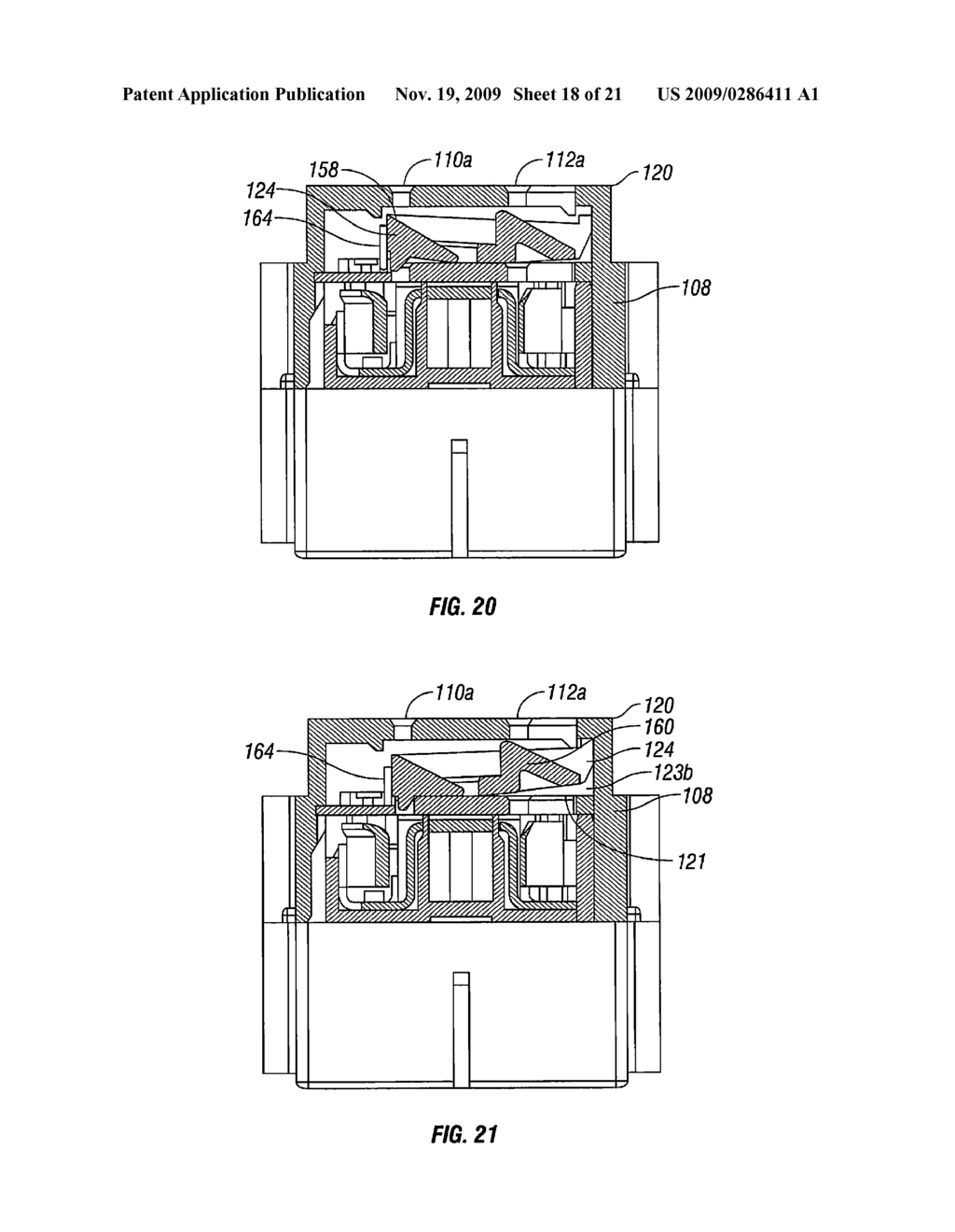 TAMPER RESISTANT INTERRUPTER RECEPTACLE HAVING A DETACHABLE METAL SKIN - diagram, schematic, and image 19