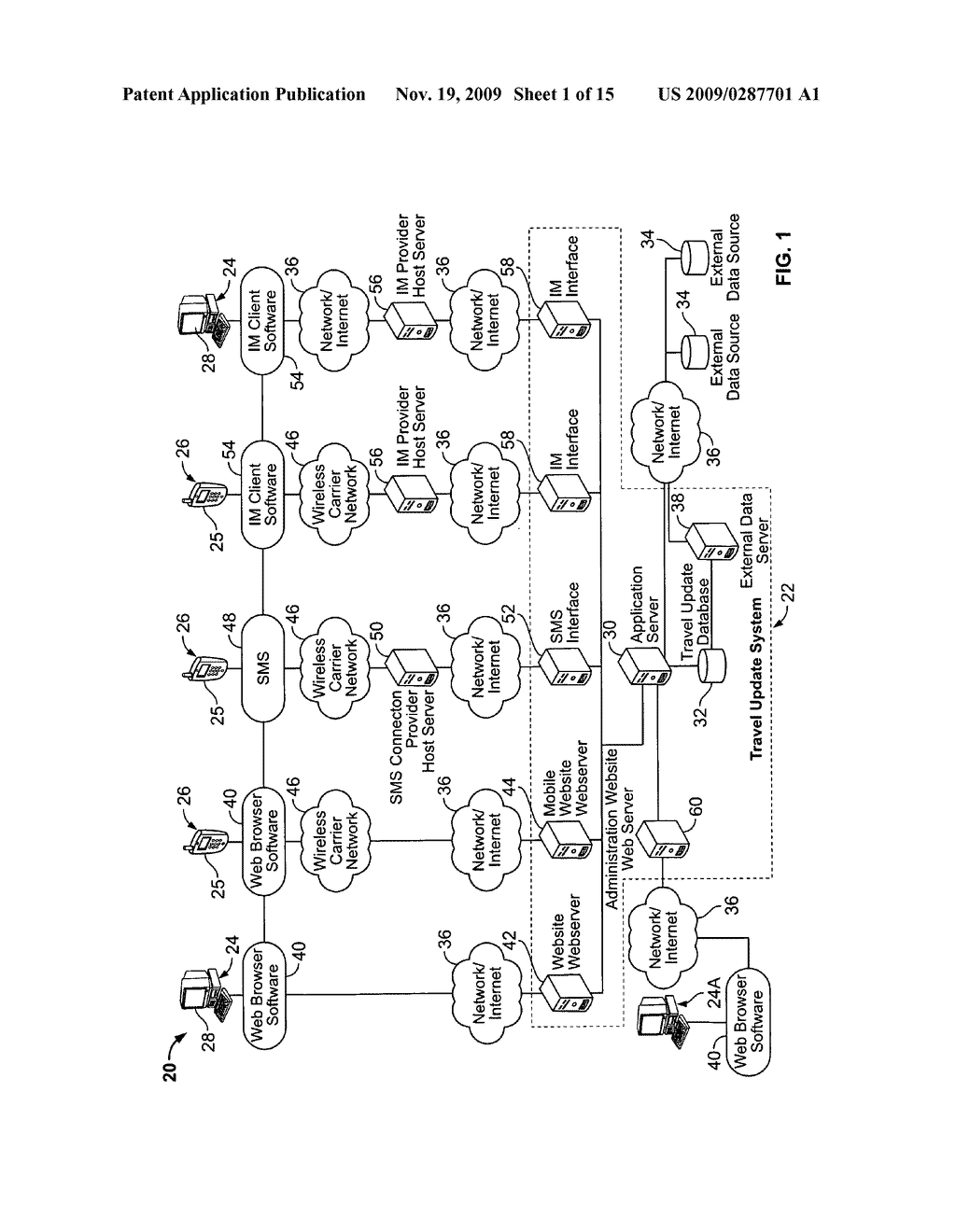 System and Method for Receiving and Displaying User Inputted Travel-Related Messages - diagram, schematic, and image 02