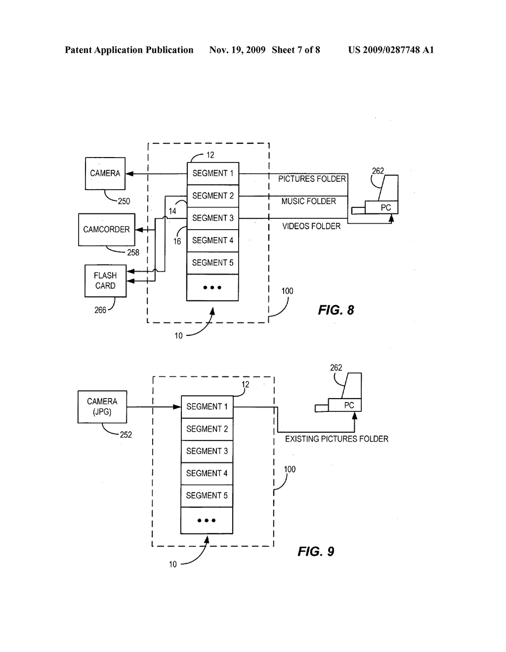 Simplified data transfer using segmented memory - diagram, schematic, and image 08