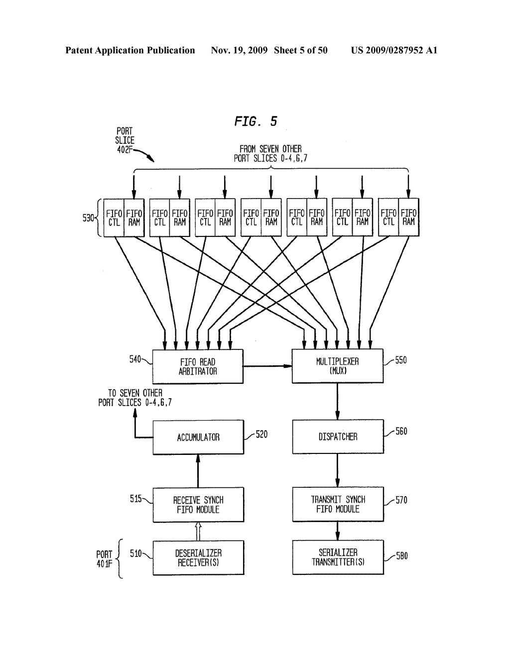 Backplane Interface Adapter with Error Control and Redundant Fabric - diagram, schematic, and image 06