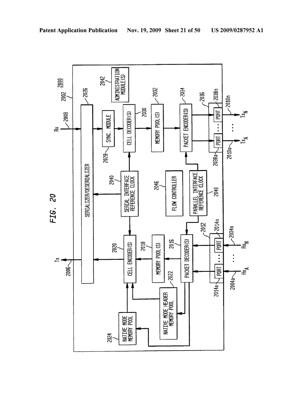 Backplane Interface Adapter with Error Control and Redundant Fabric - diagram, schematic, and image 22