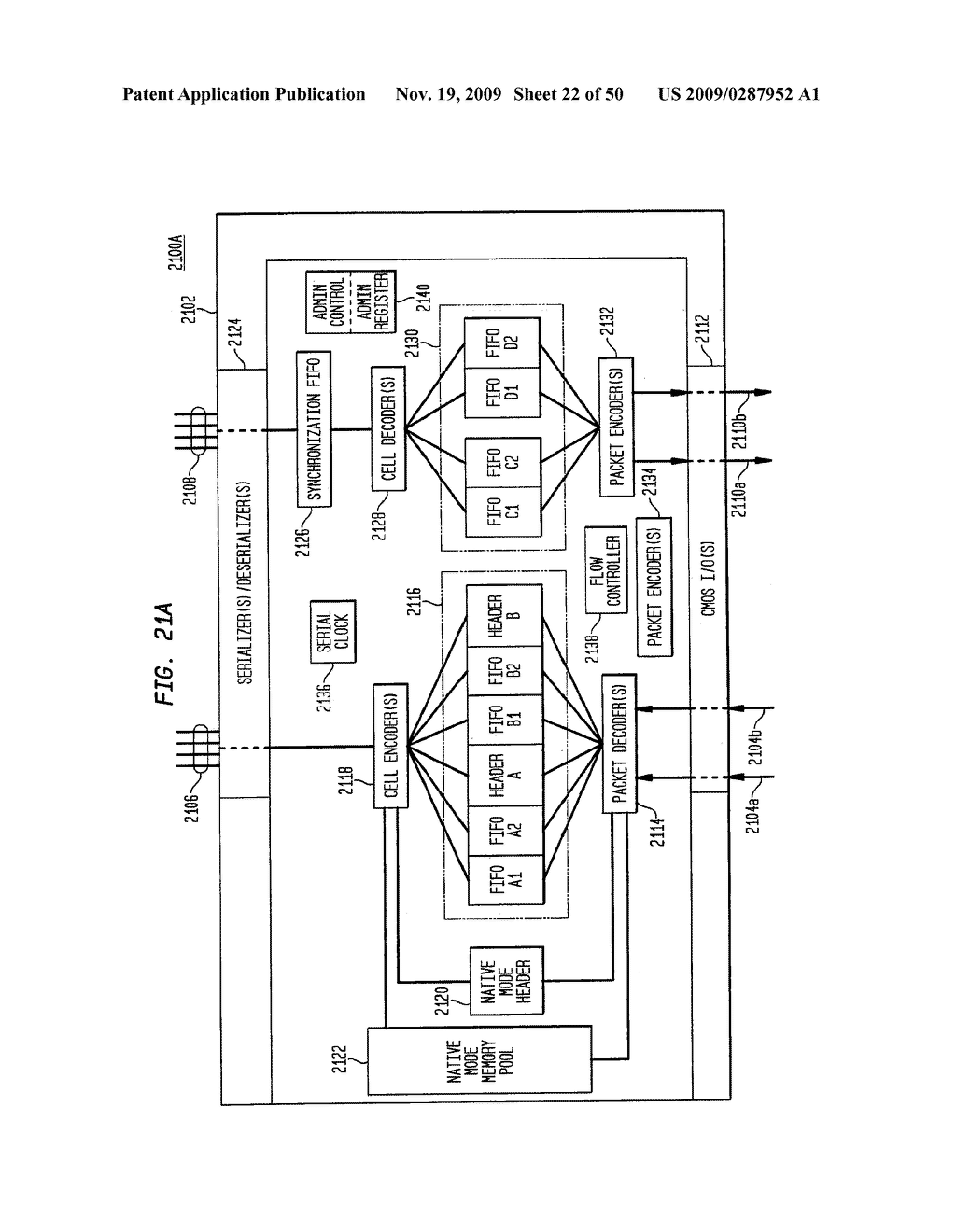 Backplane Interface Adapter with Error Control and Redundant Fabric - diagram, schematic, and image 23