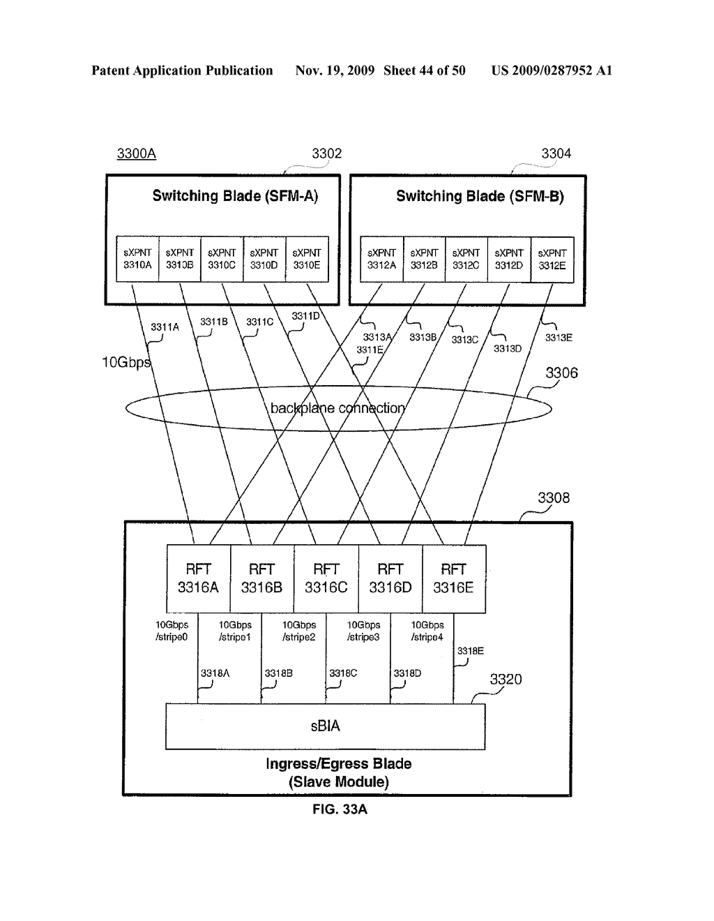 Backplane Interface Adapter with Error Control and Redundant Fabric - diagram, schematic, and image 45