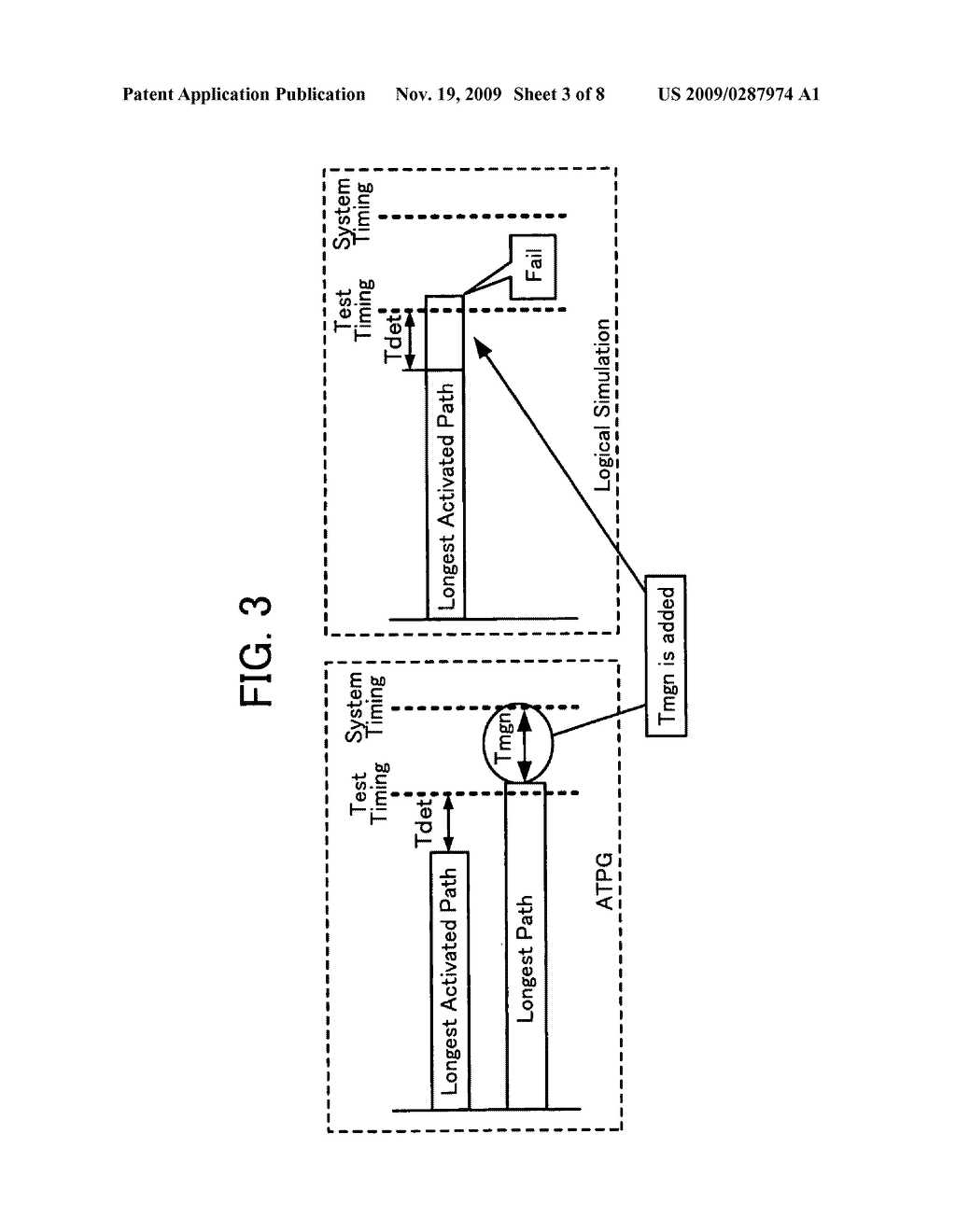 Method of generating test condition for detecting delay faults in semiconductor integrated circuit and apparatus for generating the same - diagram, schematic, and image 04