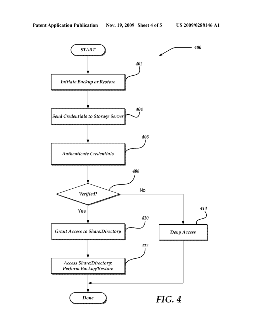 SECURE CENTRALIZED BACKUP USING LOCALLY DERIVED AUTHENTICATION MODEL - diagram, schematic, and image 05