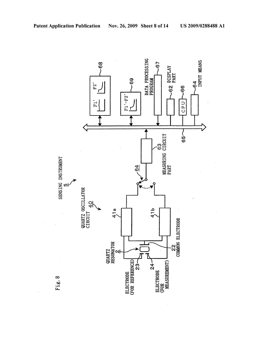 PIEZOELECTRIC SENSOR AND SENSING INSTRUMENT - diagram, schematic, and image 09