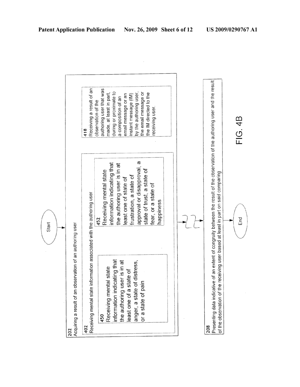 Determination of extent of congruity between observation of authoring user and observation of receiving user - diagram, schematic, and image 07