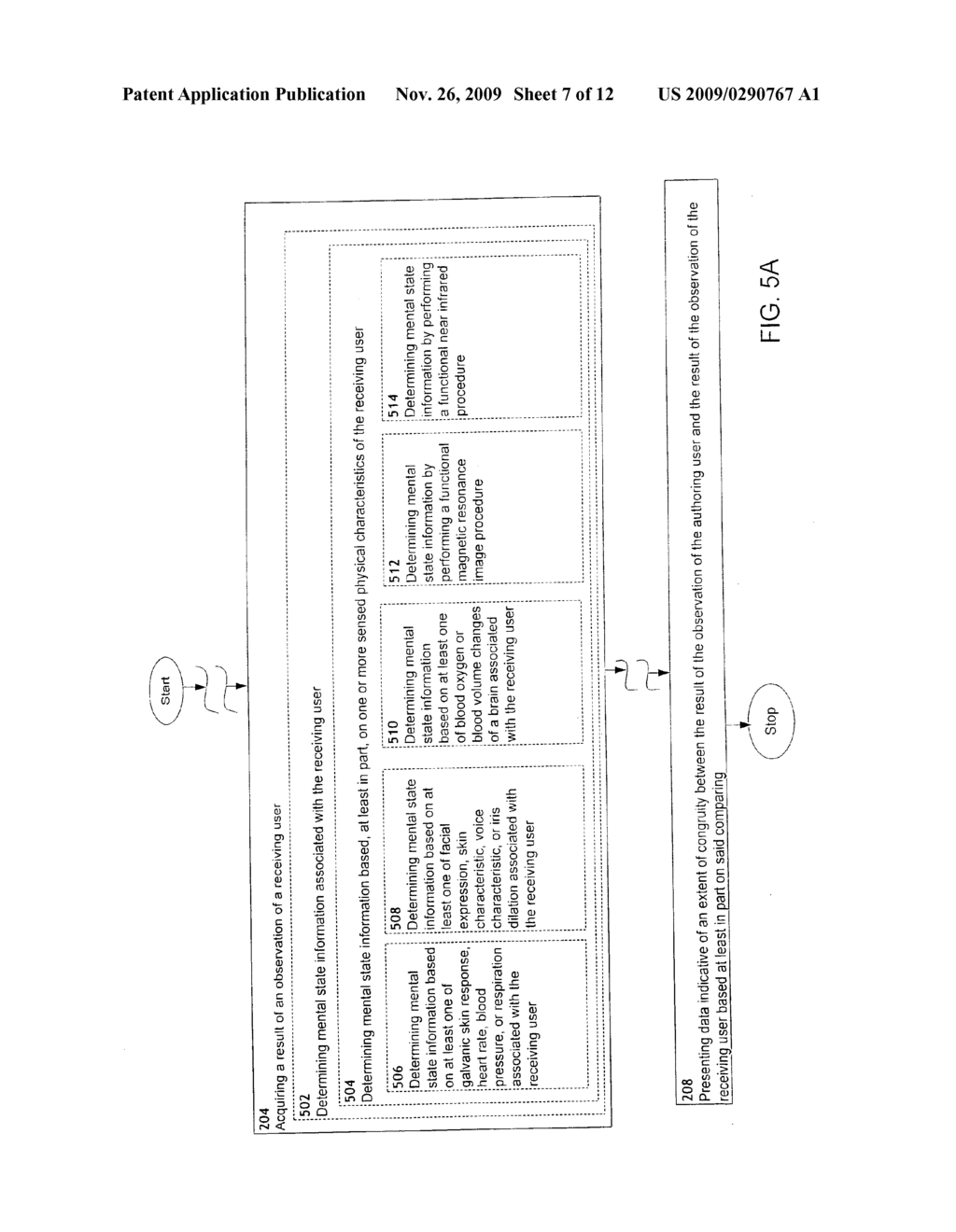 Determination of extent of congruity between observation of authoring user and observation of receiving user - diagram, schematic, and image 08