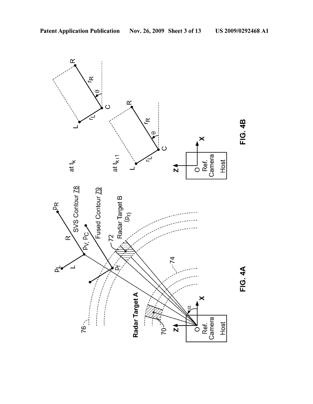 COLLISION AVOIDANCE METHOD AND SYSTEM USING STEREO VISION AND RADAR