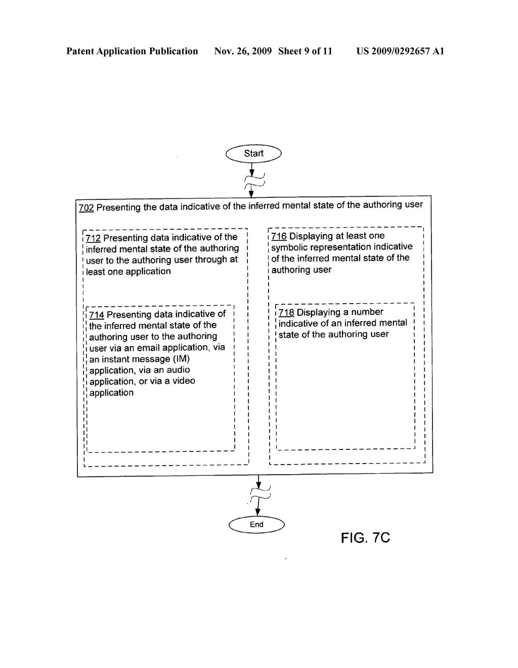 Acquisition and association of data indicative of an inferred mental state of an authoring user - diagram, schematic, and image 10