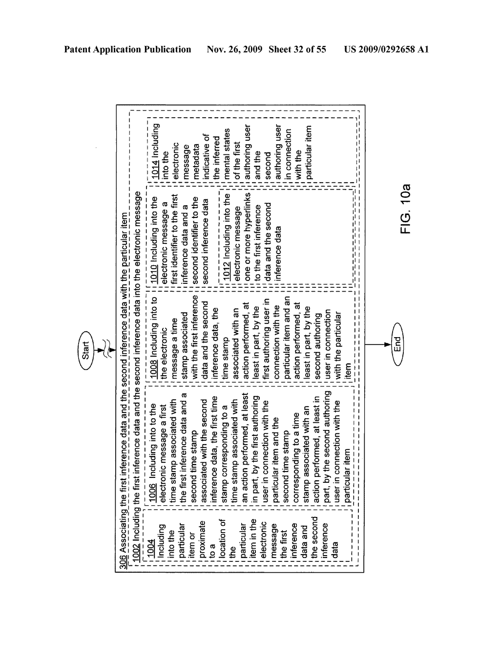Acquisition and particular association of inference data indicative of inferred mental states of authoring users - diagram, schematic, and image 33
