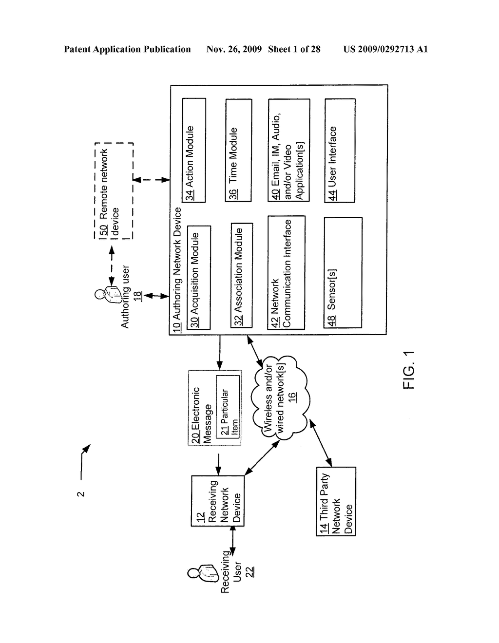 Acquisition and particular association of data indicative of an inferred mental state of an authoring user - diagram, schematic, and image 02