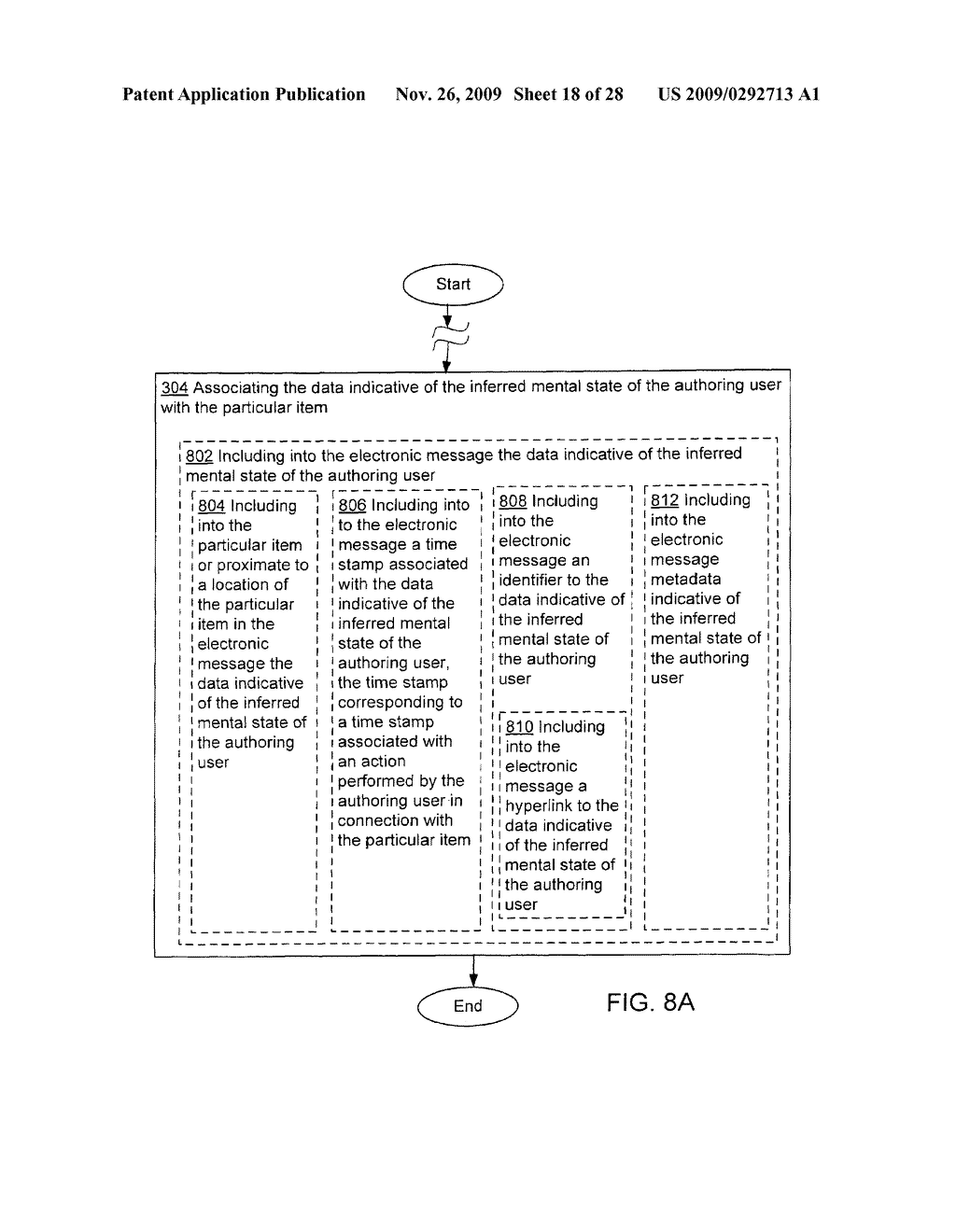 Acquisition and particular association of data indicative of an inferred mental state of an authoring user - diagram, schematic, and image 19