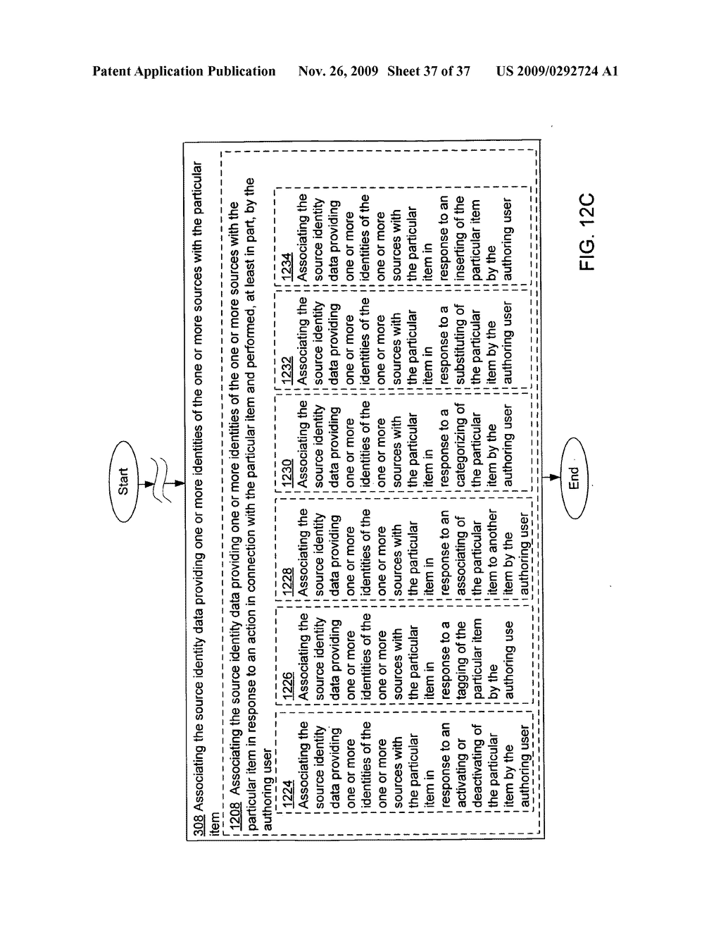 Acquisition and particular association of inference data indicative of an inferred mental state of an authoring user and source identity data - diagram, schematic, and image 38