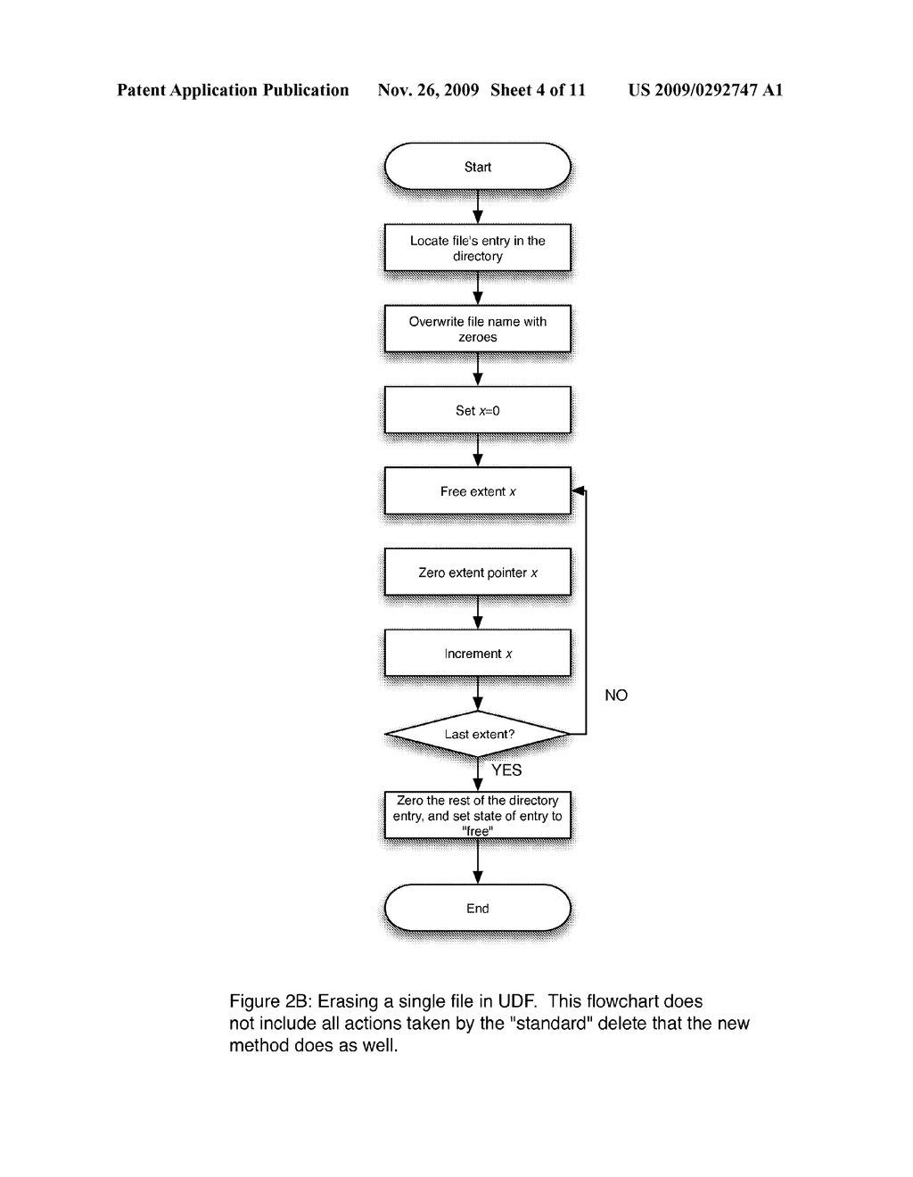 SELECTIVE FILE ERASURE USING METADATA MODIFICATIONS - diagram, schematic, and image 05