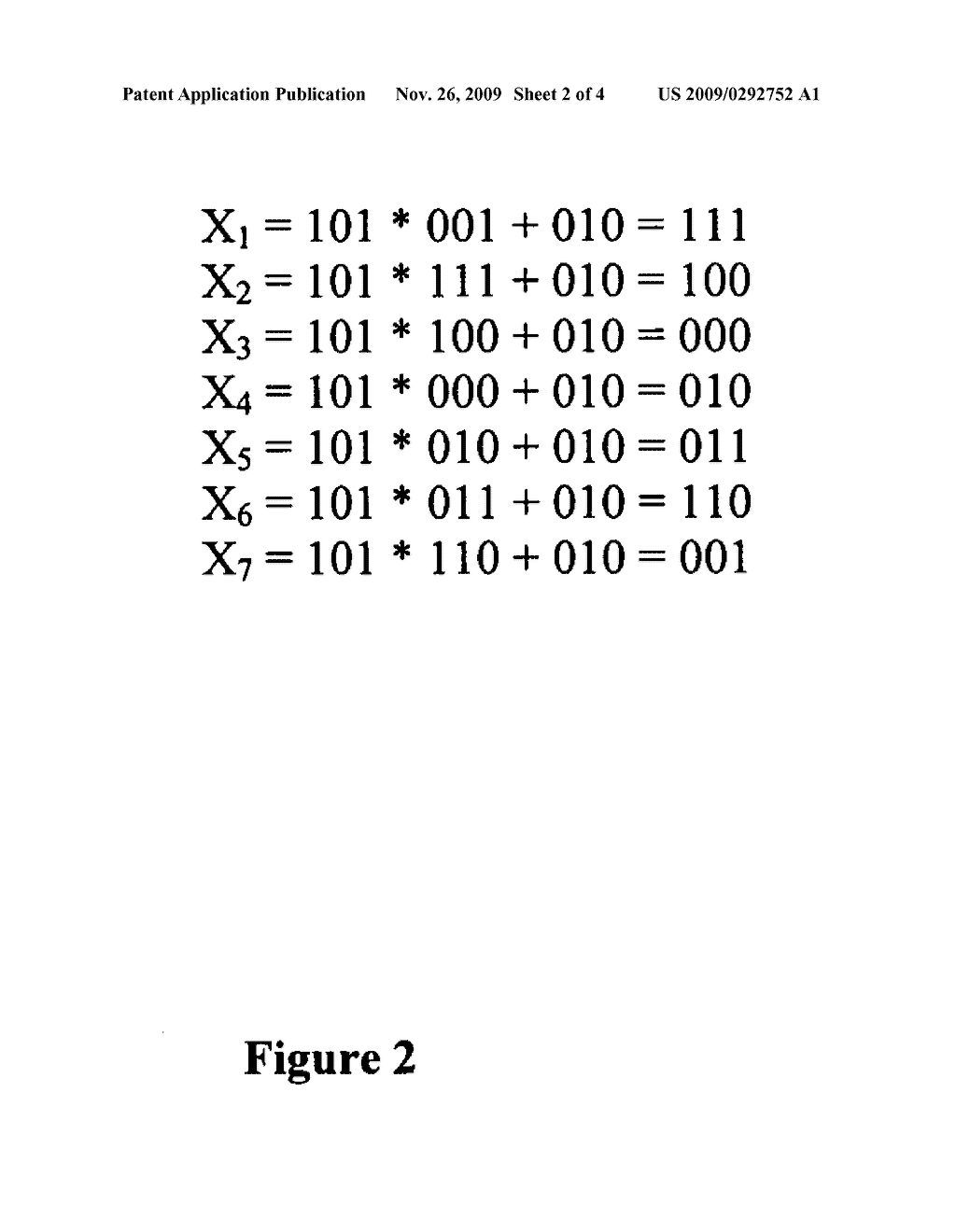 Mechanism for generating pseudorandom number sequences - diagram, schematic, and image 03