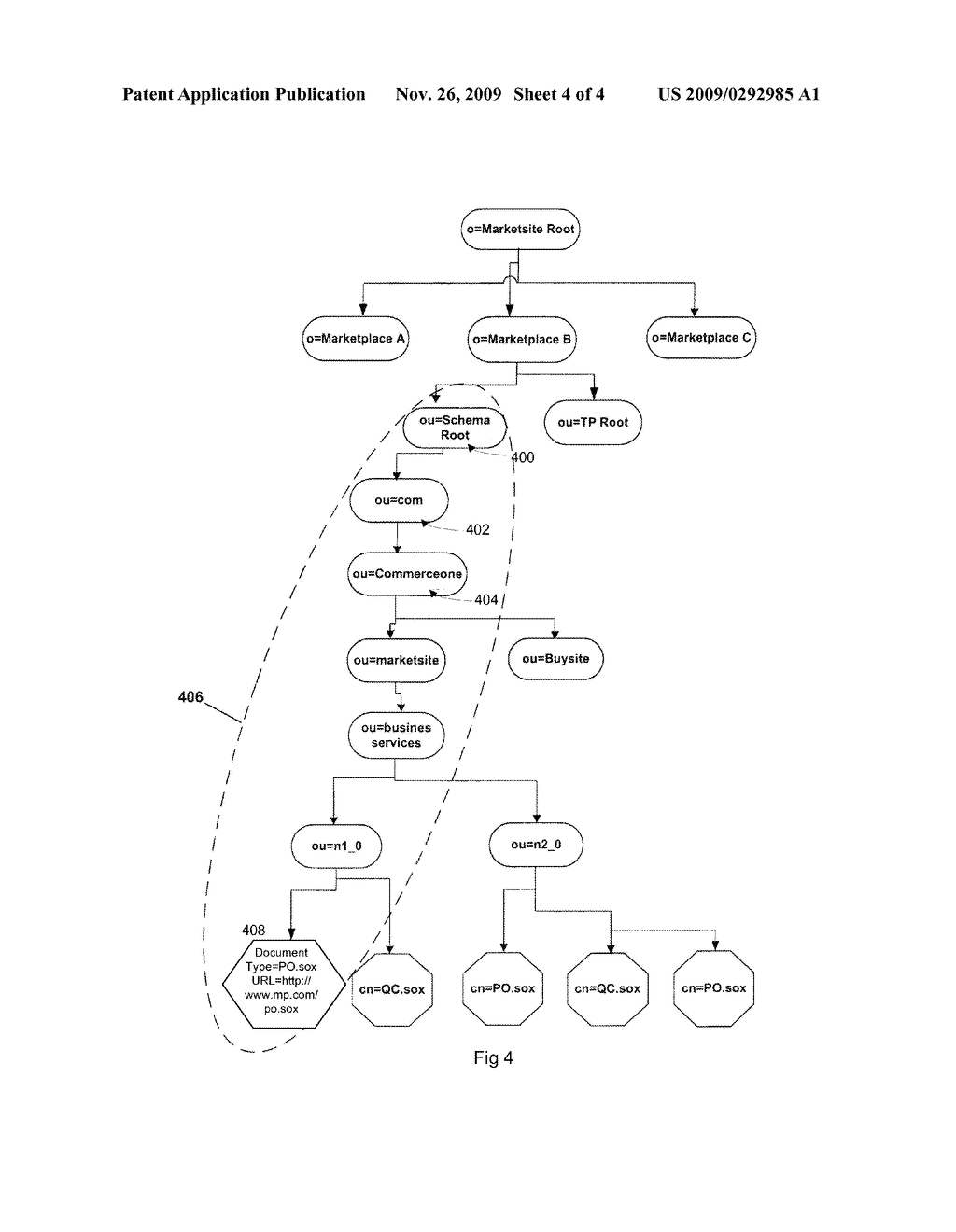 SYSTEM AND METHOD FOR SCHEMA EVOLUTION IN AN E-COMMERCE NETWORK - diagram, schematic, and image 05