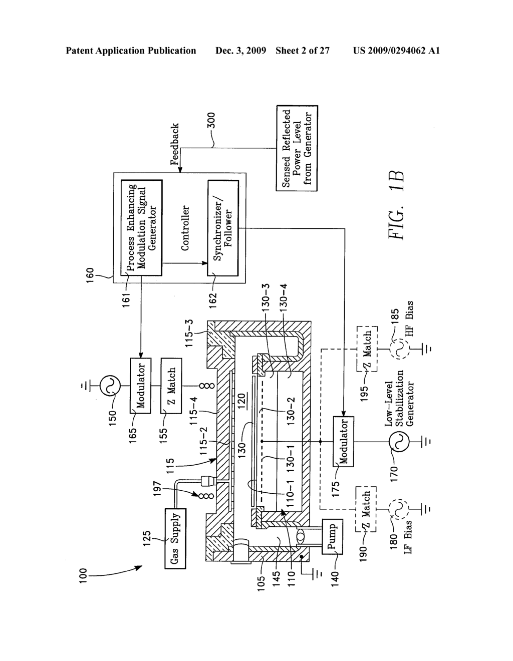 PLASMA REACTOR WITH PLASMA LOAD IMPEDANCE TUNING FOR