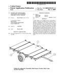 Folding, re-configurable, expandable, multi purpose, portable, utility trailer diagram and image