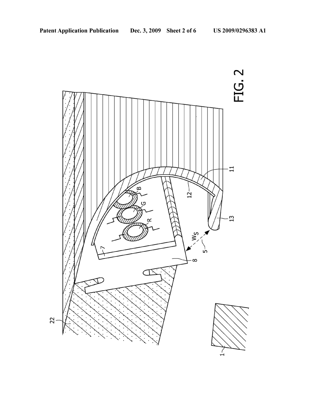 Illumination System Shelf Lighting And Wall Washer Diagram Of Schematic Image 03