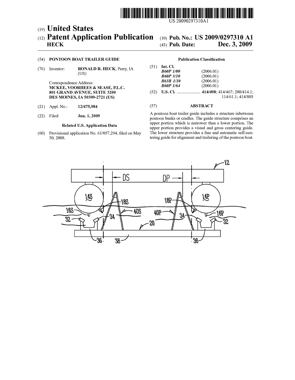 Pontoon Boat Trailer Guide Diagram Schematic And Image 01 Shockley Diode