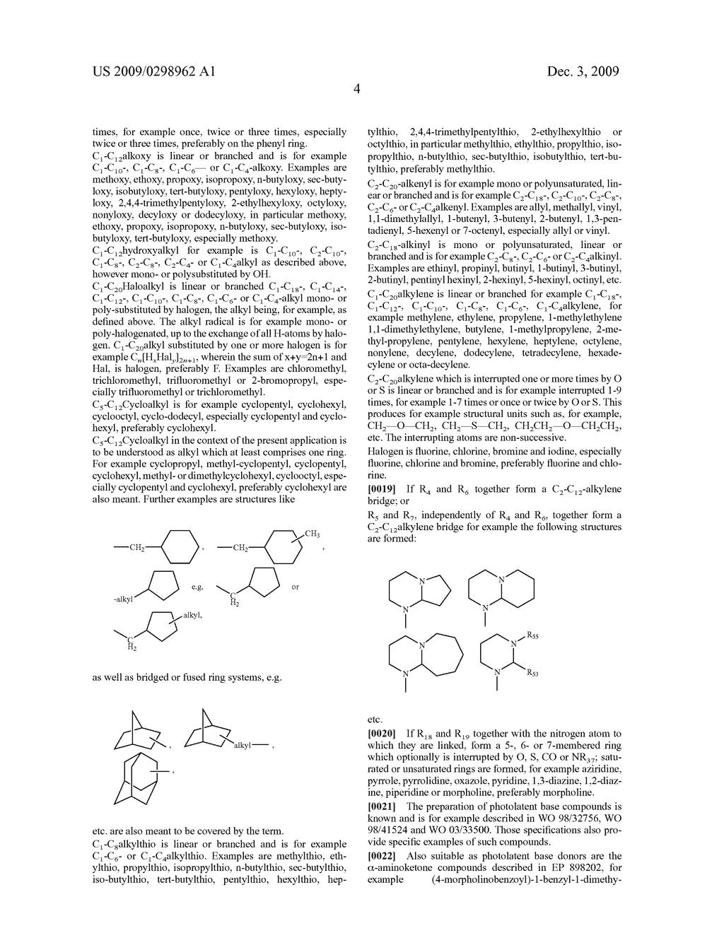 PHOTOLATENT BASES FOR SYSTEMS BASED ON BLOCKED ISOCYANATES - diagram, schematic, and image 05