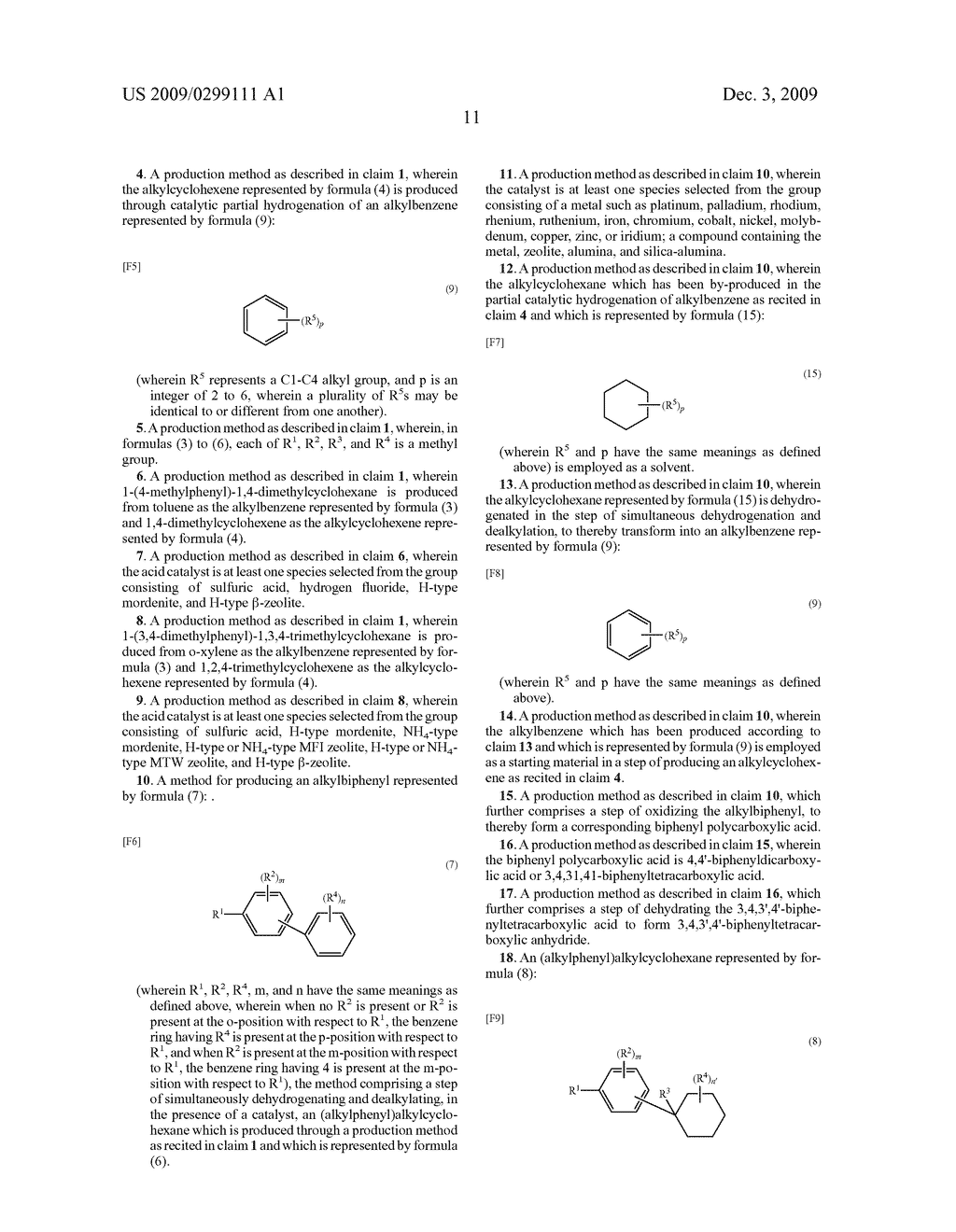 (ALKYLPHENYL) ALKYLCYCLOHEXANE AND METHOD FOR PRODUCING (ALKYLPHENYL) ALKYLCYCLOHEXANE OR ALKYLBIPHENYL - diagram, schematic, and image 13