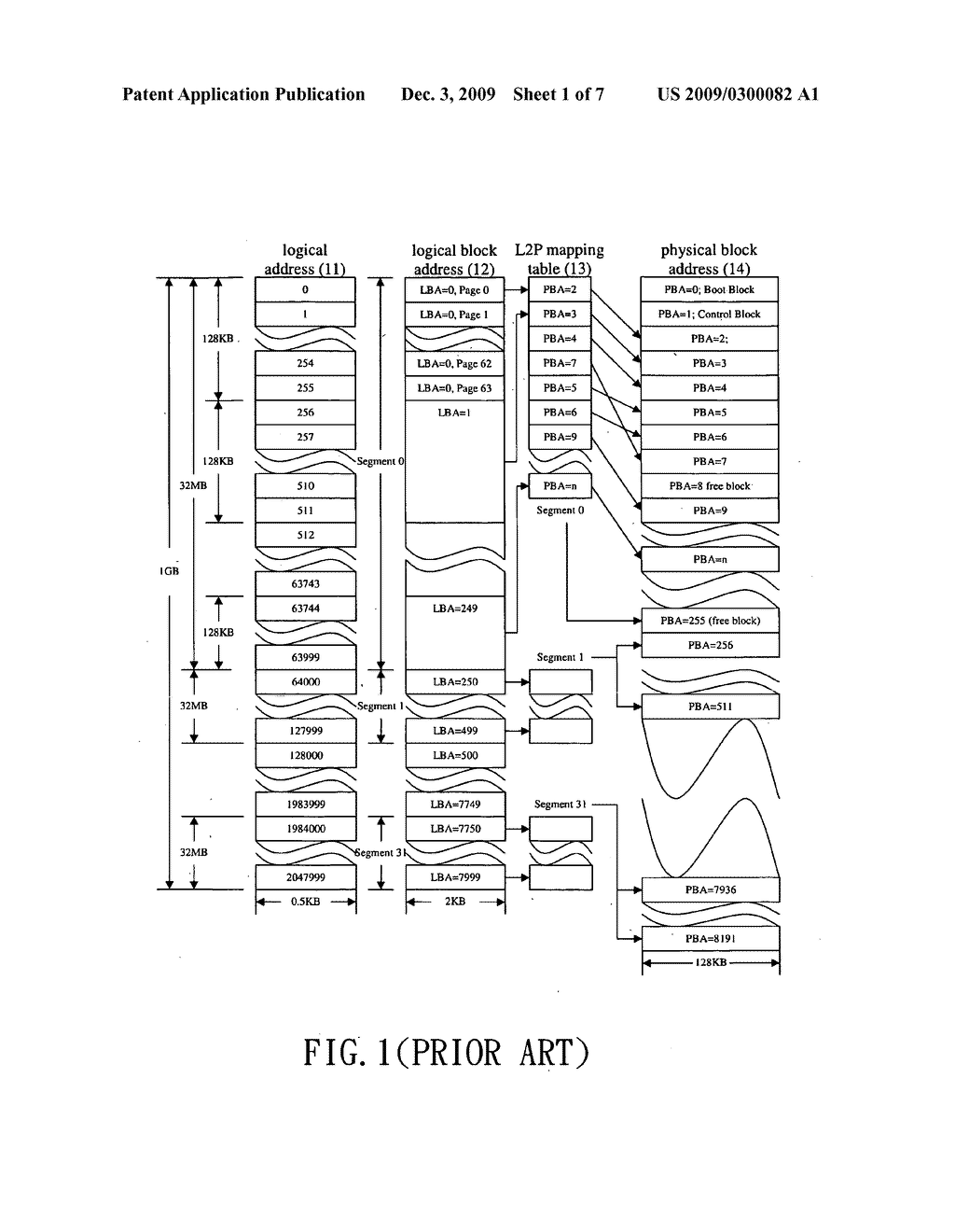 Method for memory space management - diagram, schematic, and image 02