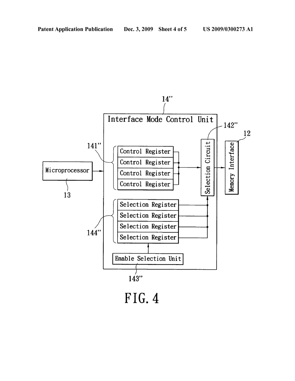 Flash memory apparatus with automatic interface mode switching - diagram, schematic, and image 05